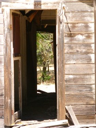 Photo of old barn door in Anderson Valley, CA, by Linda A. Levy